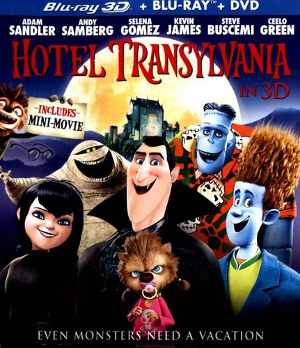 Hotel Transylvania [Includes Digital Copy] [UltraViolet] [3D] [Blu-ray] [Blu-ray/Blu-ray 3D] [2012] 7117107