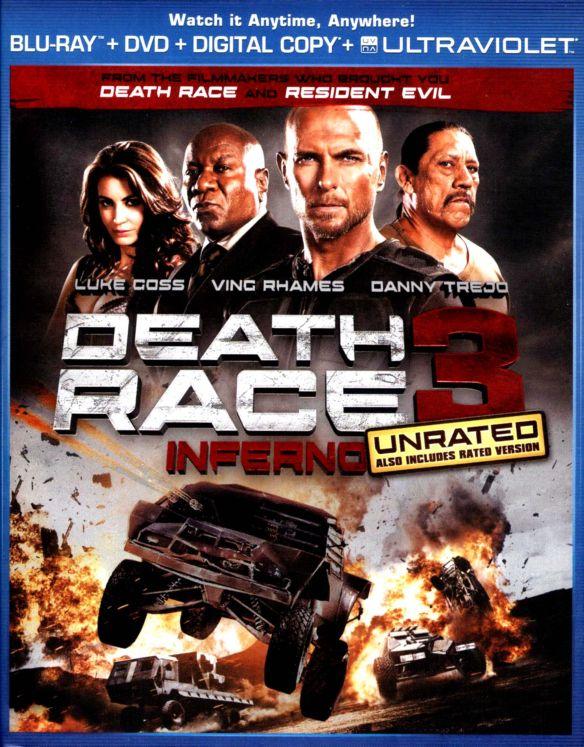 Death Race 3: Inferno [2 Discs] [Includes Digital Copy] [UltraViolet] [Blu-ray/DVD] [2013] 7118124