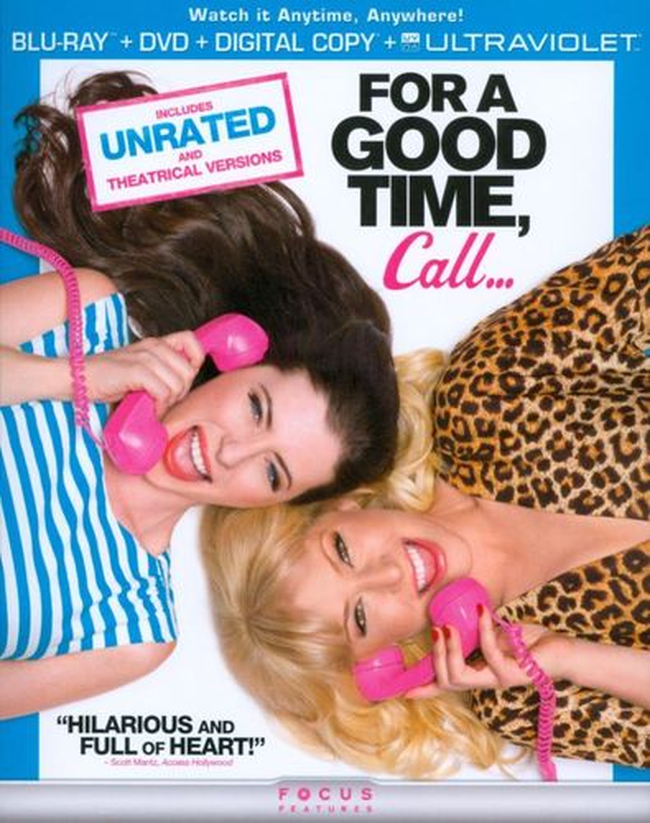 For a Good Time. Call [Blu-ra/DVD] [UltraViolet] [Blu-ray] [2012] 7118179