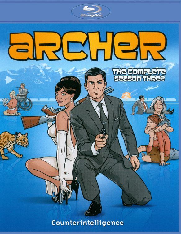 Archer: The Complete Season Three [2 Discs] [Blu-ray] 7120095