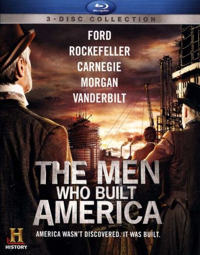 The Men Who Built America [3 Discs] [Blu-ray] 7147073
