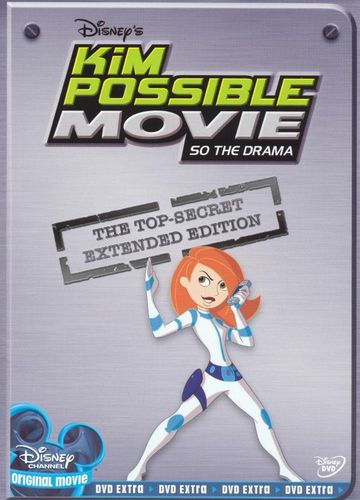 Kim Possible Movie: So the Drama [Top-Secret Extended Edition] [DVD] 7148516