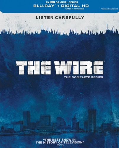 The Wire: The Complete Series [20 Discs] [Blu-ray] 7161284