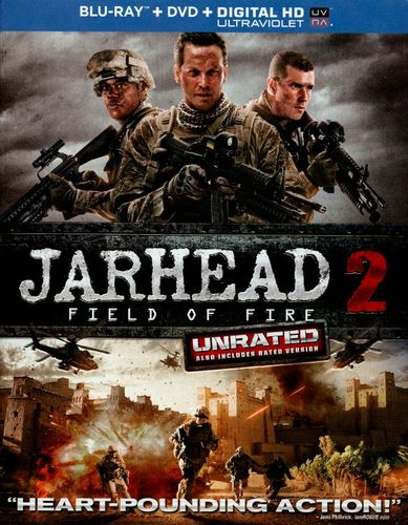 Jarhead 2: Field of Fire [Unrated] [2 Discs] [Blu-ray/DVD] [2014] 7185033