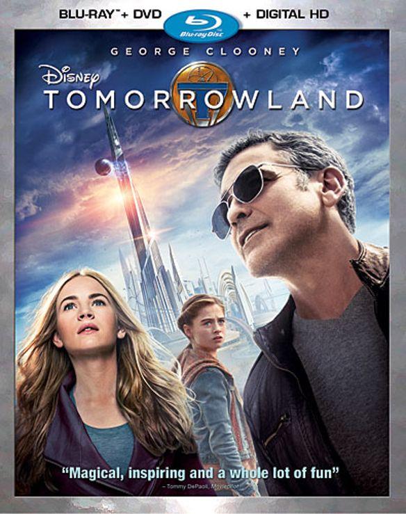 Tomorrowland [Includes Digital Copy] [Blu-ray/DVD] [2015] 7187013