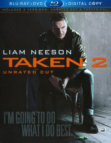 Taken 2 [Unrated/Theatrical] [2 Discs] [Includes Digital Copy] [Blu-ray/DVD] [2012] 7188049