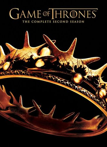 Game of Thrones: The Complete Second Season [5 Discs] [DVD] 7218053