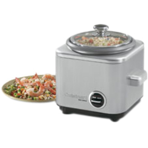 Cuisinart - 4-Cup Rice Cooker - Silver