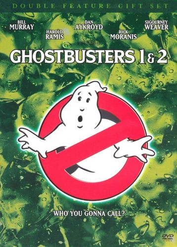 Ghostbusters/Ghostbusters 2 [2 Discs] [With Book] [DVD] 7261544