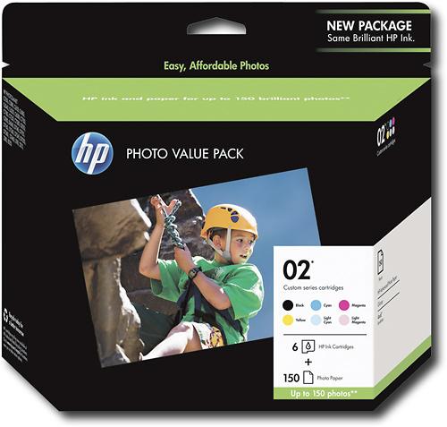 HP - Media Sap Q7964An#140 Custom 02S Photo Value Pack - Black
