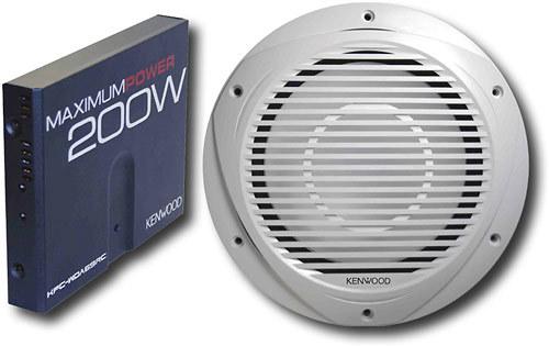 Kenwood - 200W Marine Amplifier with 10
