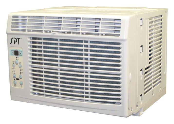 SPT - 8,000 BTU Window Air Conditioner - White 7292104
