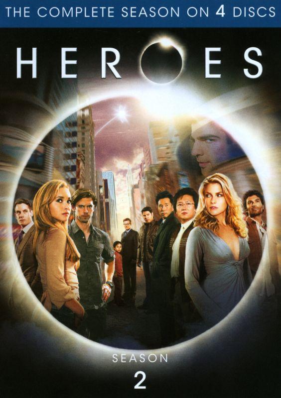 Heroes: Season 2 [4 Discs] [DVD] 7298048