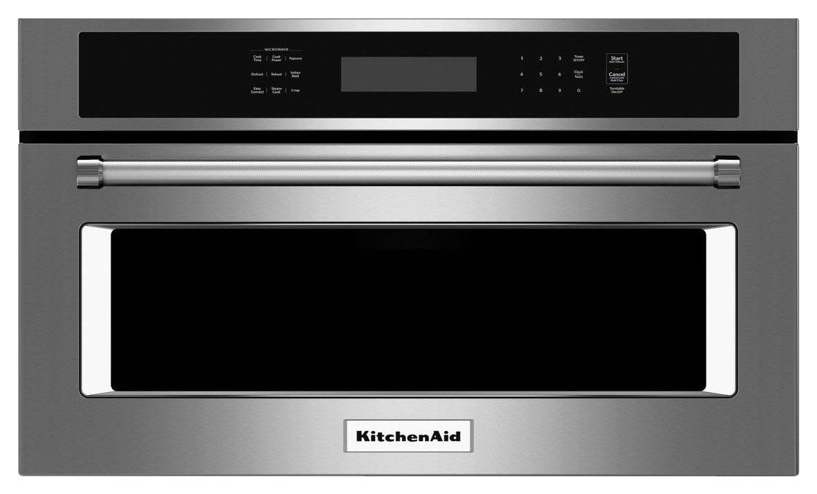 KitchenAid 1.4 Cu. Ft. Built-In Microwave Stainless Steel KMBP107ESS