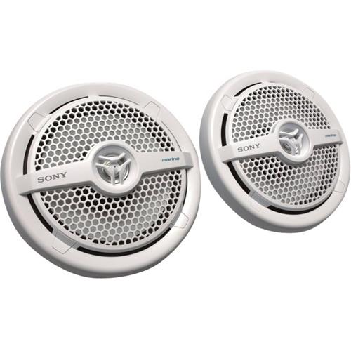 """Sony - 6-1/2"""" 160-Watt Passive 2-Way Speaker (Each) - White 7369116"""