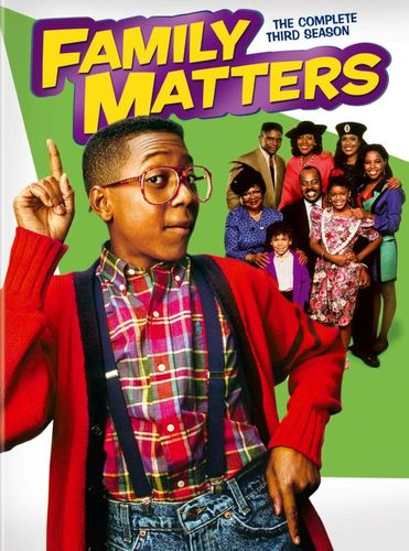 Family Matters: The Complete Third Season [3 Discs] [DVD] 7376085