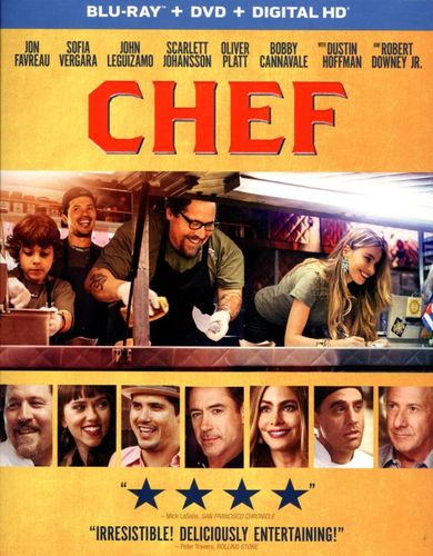 Chef [2 Discs] [Includes Digital Copy] [UltraViolet] [Blu-ray] [2014] 7383303
