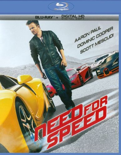 Need for Speed [Includes Digital Copy] [Blu-ray] [2014] 7383409