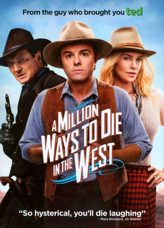 A Million Ways to Die in the West [DVD] [2014] 7383481