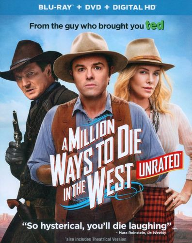 A Million Ways to Die in the West [2 Discs] [Includes Digital Copy] [Ultraviolet] [Blu-ray/DVD] [2014] 7383507