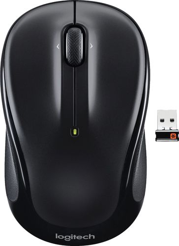 Logitech - M325 Wireless Optical Mouse - Black