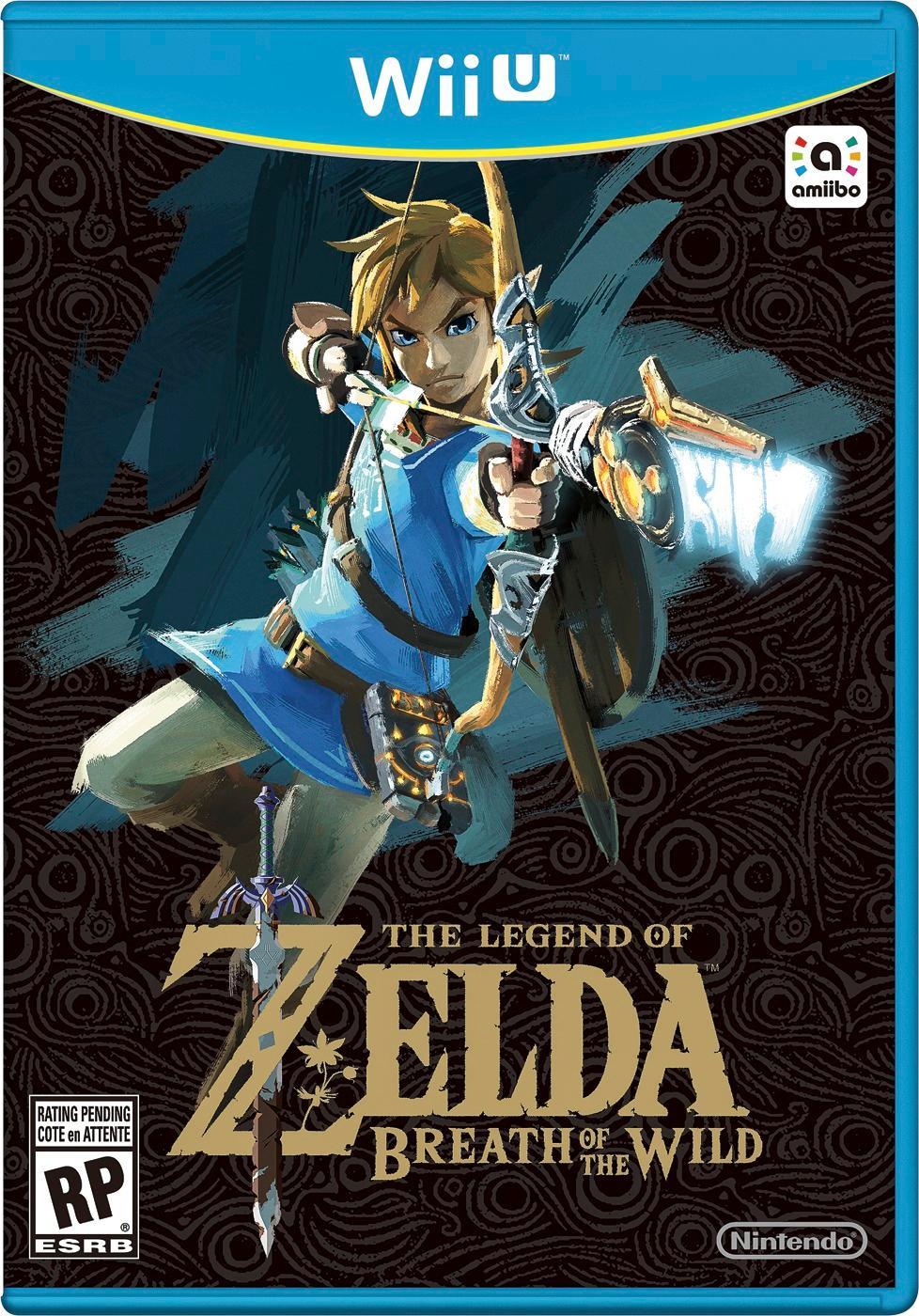 The Legend of Zelda: Breath of the Wild Nintendo Wii U 103421