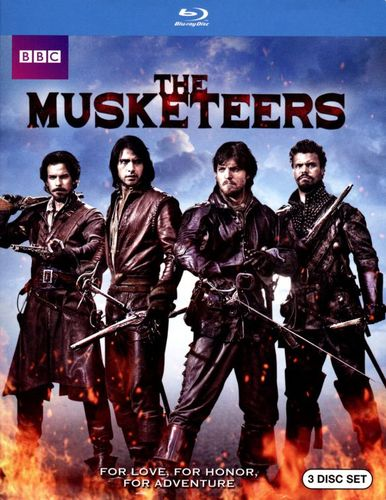 The Musketeers: Season One [3 Discs] [Blu-ray] 7425279