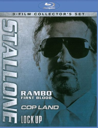 Stallone: Rambo - First Blood/Cop Land/Lock Up [3 Discs] [Blu-ray] 7428552