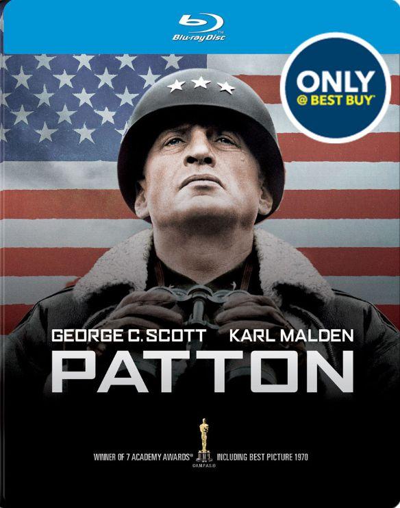 Patton [Blu-ray/DVD] [MetalPak] [Only @ Best Buy] [1970] 7433657