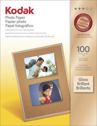 Kodak Photo Paper Gloss 100 ct 8209017