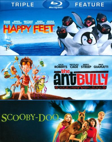 Happy Feet/The Ant Bully/Scooby-Doo: The Movie [3 Discs] [Blu-ray] 7459057