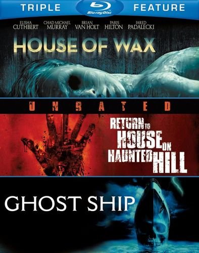 House of Wax/Return to House on Haunted Hill/Ghost Ship [Blu-ray] 7459084