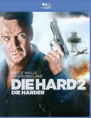 Die Hard 2: Die Harder [2 Discs] [Blu-ray/DVD] [1990] 7532078