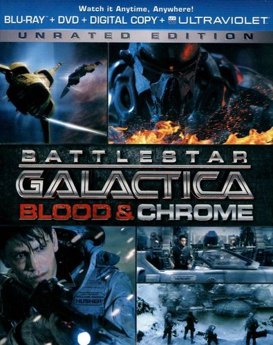 Battlestar Galactica: Blood & Chrome [2 Discs] [Blu-ray/DVD] [2013] 7580089