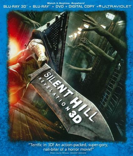 Silent Hill: Revelation 3D [2 Discs] [Includes Digital Copy] [UltraViolet] [3D] [Blu-ray/DVD] [Blu-ray/Blu-ray 3D/DVD] [2012] 7580104
