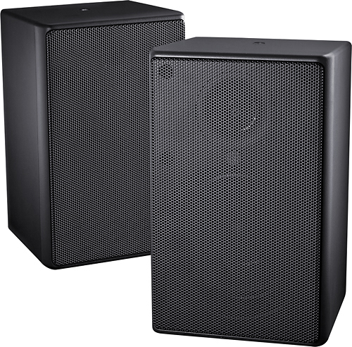 Insignia NS-OS112 - Speakers - 2-way - black