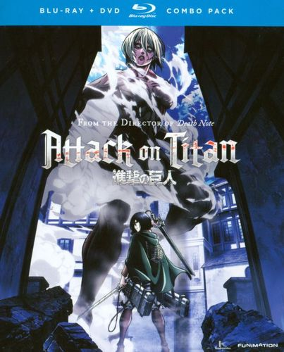 Attack on Titan: Part 2 [4 Discs] [Blu-ray/DVD] 7595108