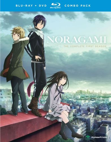 Noragami: The Complete First Season [4 Discs] [Blu-ray/DVD] 7613396