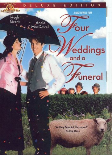 Four Weddings and a Funeral [Deluxe Edition] [DVD] [1994] 7614003