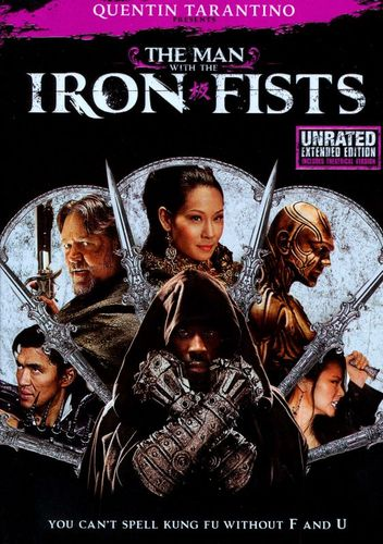The Man with the Iron Fists [Unrated] [DVD] [2012] 7614044