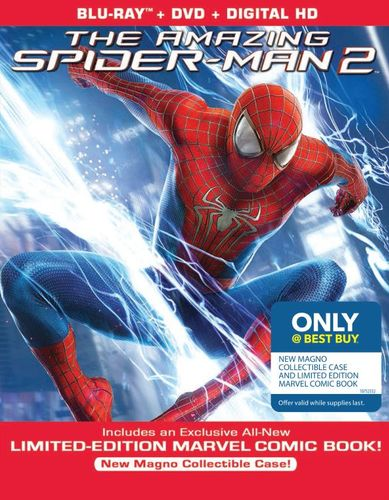 The Amazing Spider-Man 2 [Blu-ray/DVD] [Ultraviolet] [Only @ Best Buy] [Comic Book] [2014] 7615006
