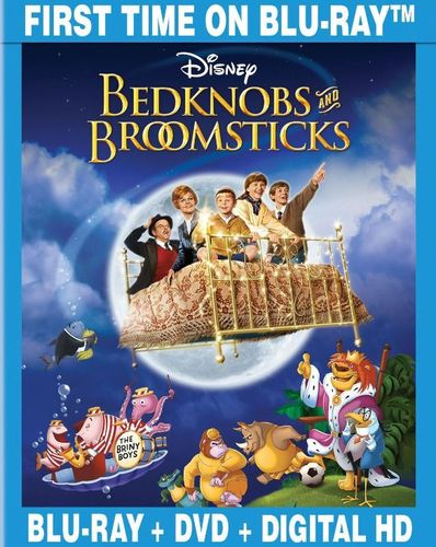 Bedknobs and Broomsticks [2 Discs] [Blu-ray/DVD] [1971] 7620043