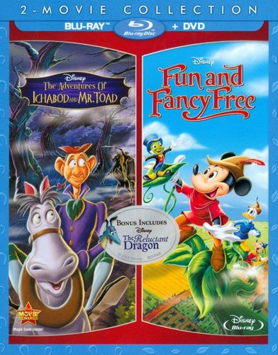 The Adventures of Ichabod and Mr. Toad/Fun and Fancy Free [3 Discs] [Blu-ray/DVD] 7620052