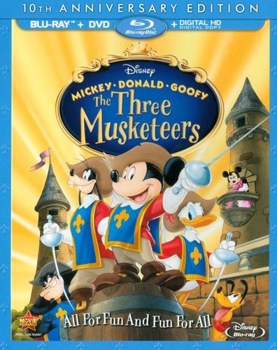 The Three Musketeers [10th Anniversary] [Blu-ray] [2004] 7620158