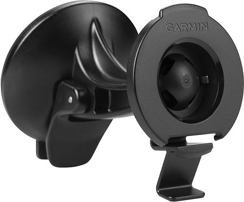 Garmin - Suction Cup Mount for Select Garmin n & #252vi GPS - Black 7640048