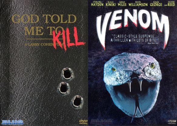 God Told Me To/Venom [2 Discs] [DVD] 7641331