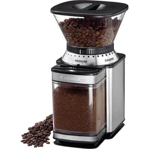 Cuisinart - Supreme Grind Automatic Burr Mill Coffee Grinder - Chrome