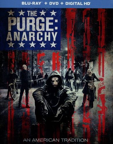 The Purge: Anarchy [2 Discs] [Includes Digital Copy] [UltraViolet] [Blu-ray/DVD] [2014] 7647065