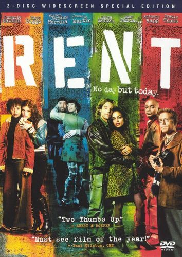 Rent [WS] [2 Discs] [Special Edition] [DVD] [2005] 7647077