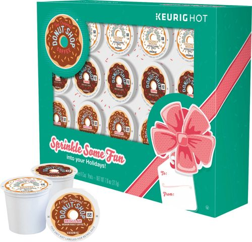 The Original Donut Shop - Holiday Gift Box Original Donut Shop K-Cup Pods (20-Count) - Multi 7667114